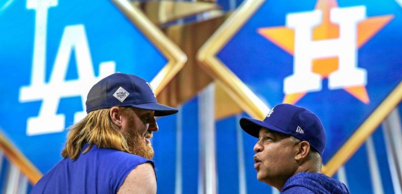 Irked Dodgers don't want '17 title, 'fake banner'