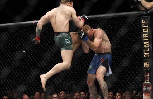 Conor McGregor vs Cowboy: Irishman's emphatic UFC return in 104 glorious photographs