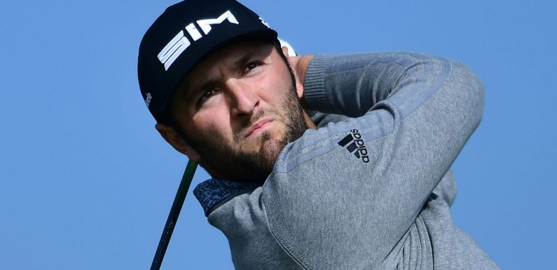 Torrey Pines: Jon Rahm leads after 65, Rory McIlroy and Tiger Woods stay in touch