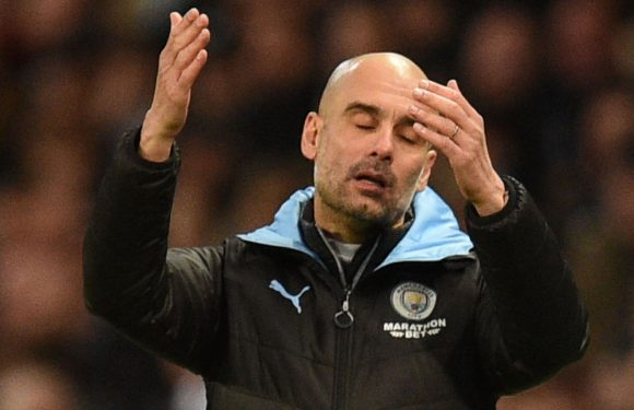 Pep Guardiola: Manchester City let down by 'wrong decision' in Crystal Palace draw