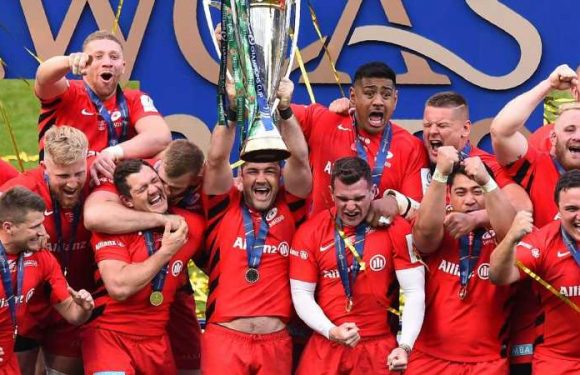 Saracens board accept relegation for salary cap breaches