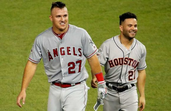Allegations against Mike Trout, Jose Altuve force MLB into scramble mode to defend stars