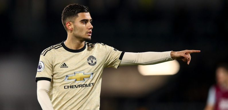 Andreas Pereira fires defiant message to Man Utd fans over criticism