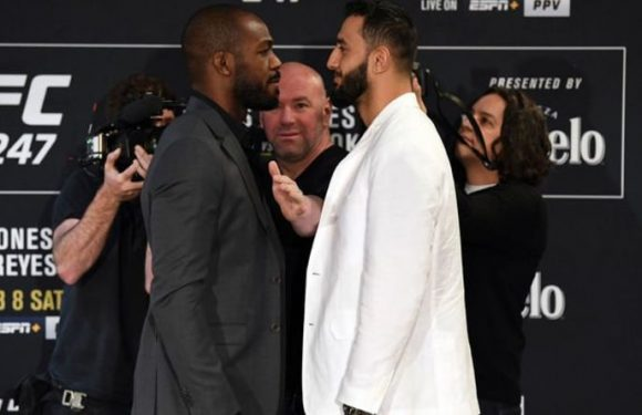 UFC 247 live stream and start time: How to watch Jones vs Reyes online and on TV