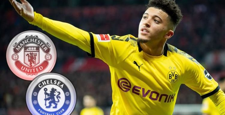 Man Utd and Chelsea handed Jadon Sancho transfer boost by Man City Champions League ban