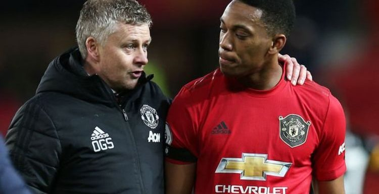 Man Utd boss Ole Gunnar Solskjaer reveals what he has told Anthony Martial in training