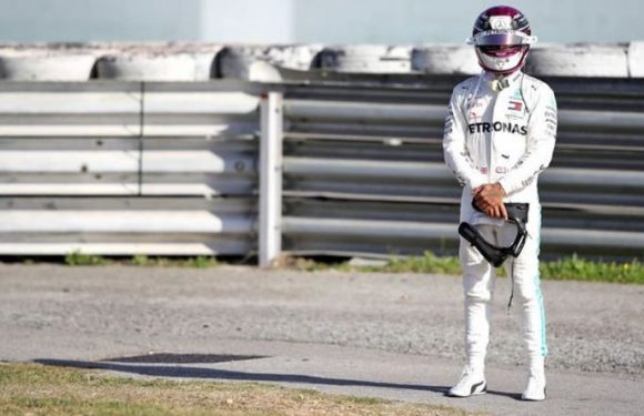 Lewis Hamilton stranded on F1 testing track as Mercedes' new W11 fails for first time