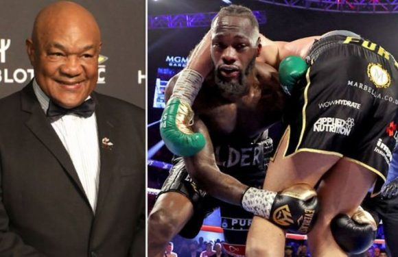 Boxing legend George Foreman offers to train Deontay Wilder for Tyson Fury rematch