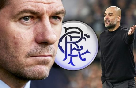 Rangers boss Steven Gerrard makes Man City comparison as Gers battle one problem
