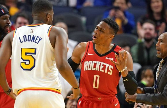 Houston Rockets' Russell Westbrook on league-leading 13th technical foul: 'I just think it's unfair'
