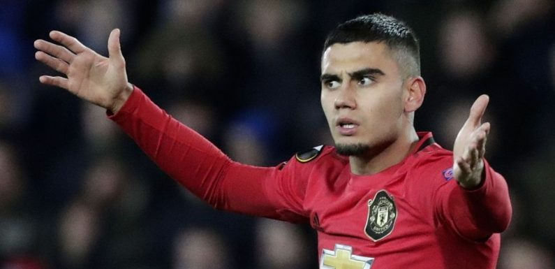 Andreas Pereira responds to Man Utd fan who told him to leave Old Trafford