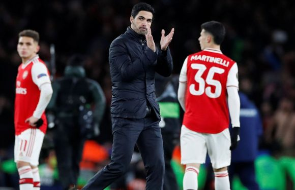 Every word Mikel Arteta said after Arsenal's disastrous Europa League defeat
