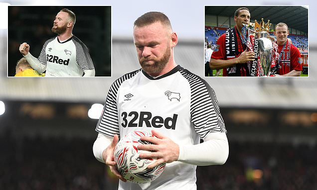 How life in Derby is a world away for England icon Wayne Rooney