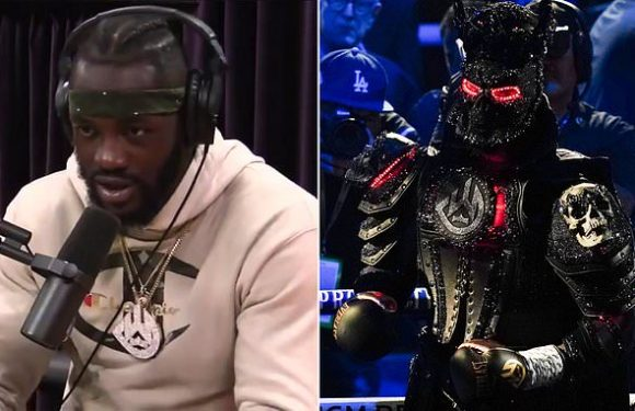 Wilder said he trains with 45-pound vest in 2018 despite outfit excuse