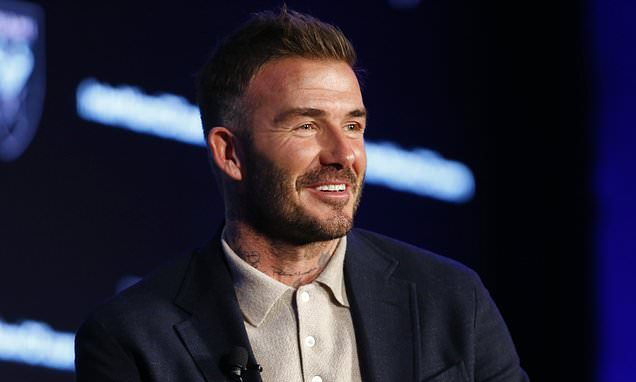 David Beckham promises a 'great opportunity' for Messi and Ronaldo
