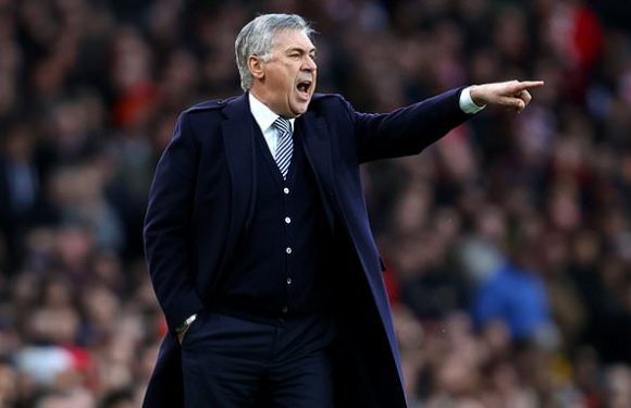 Carlo Ancelotti says Everton's Man United clash is not make-or-break