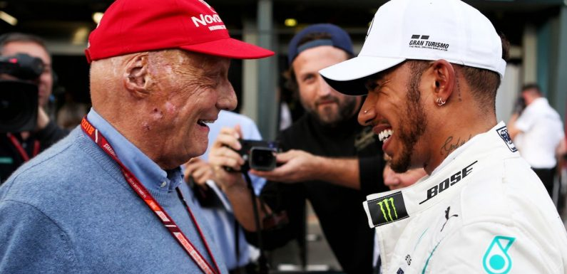 Inside Niki Lauda and Lewis Hamilton's friendship as Brit pays F1 show tribute