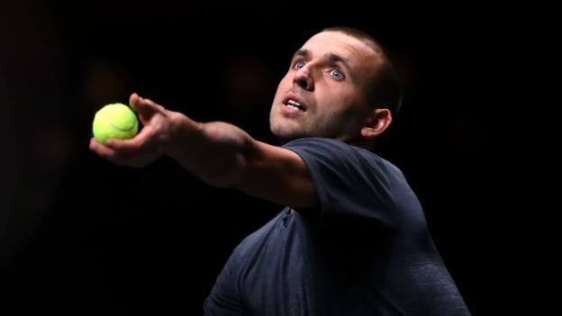 Rotterdam Open: Dan Evans beats Karen Khachanov to reach quarter-finals
