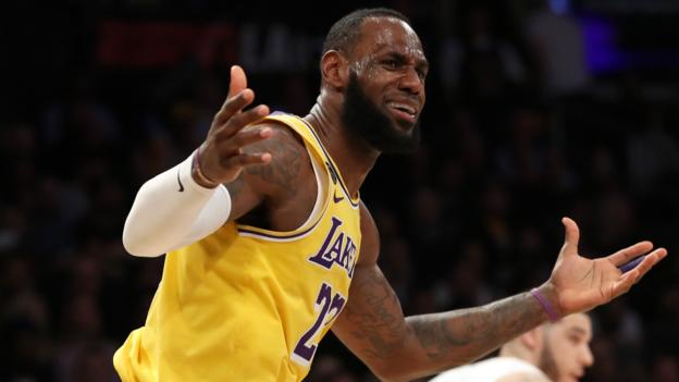 LeBron James scores 40 points in LA Lakers win over New Orleans Pelicans