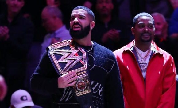 Why Toronto Raptors fan Drake took WWE belts to the Milwaukee Bucks game
