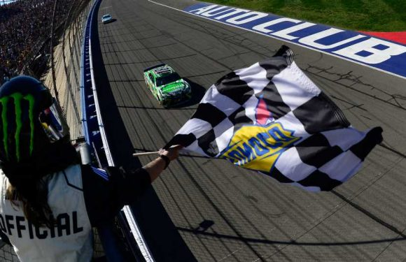 NASCAR lineup at Fontana: Starting order, pole for Auto Club 400 based on qualifying results