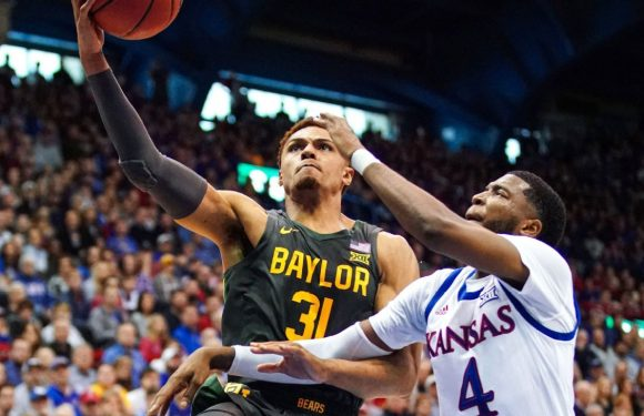 No. 1 Baylor, No. 3 Kansas top poll before meeting
