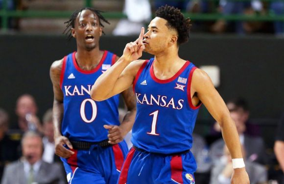 Kansas back atop Top 25; Baylor slides to No. 2