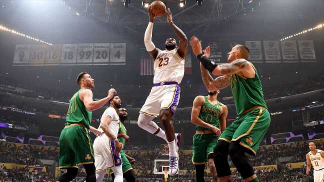 Sunday's Celtics-Lakers battle had everything the NBA's premier rivalry needs