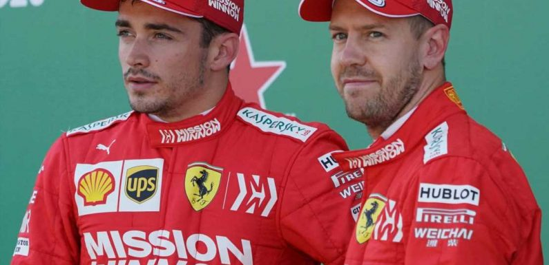Sebastian Vettel riled by suggestion his stock has fallen at Ferrari due to rise of Charles Leclerc