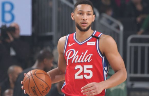 Ben Simmons exits Philadelphia 76ers' clash against Milwaukee Bucks early on with back injury
