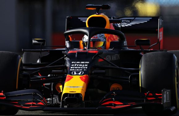 Red Bull-Honda's 2020 F1 car hailed as 'work of art' after track debut