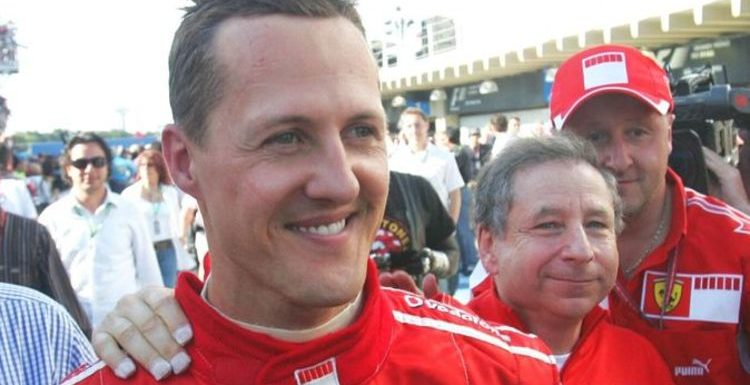 Michael Schumacher insight offered by former team-mate Martin Brundle as F1 legend hailed