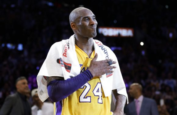 Kobe Bryant's 'Mamba out' towel goes for more than $50,000 at auction