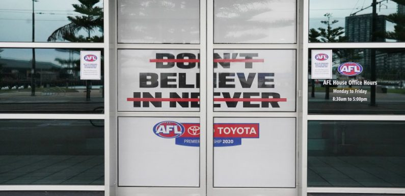 Amid the AFL's great depression, who takes the hit?