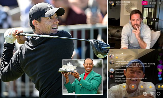 McIlroy talks Woods and Masters with Jamie Redknapp in Instagram Q&A
