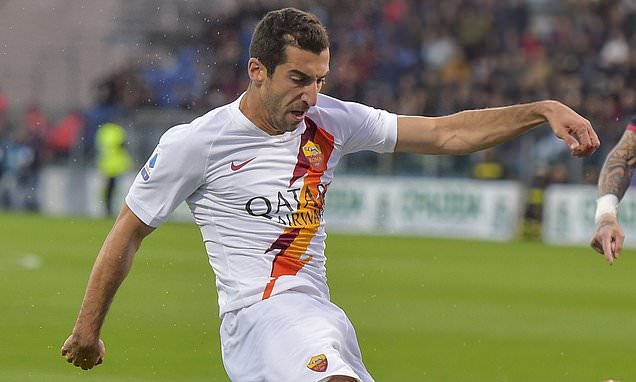 Mkhitaryan open to pay cut if he can stay on loan at Roma next season