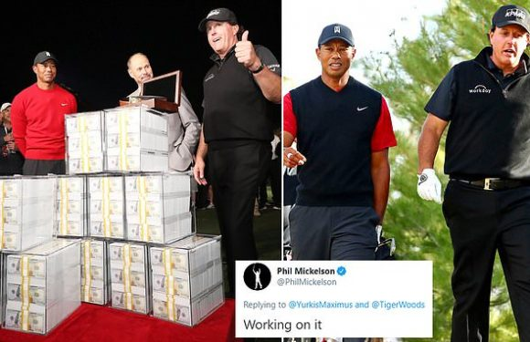 Mickelson reveals talks over Tiger Woods  rematch DURING coronavirus