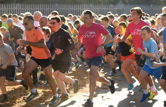 Parkrun numbers stay healthy as runners remain undeterred by coronavirus outbreak