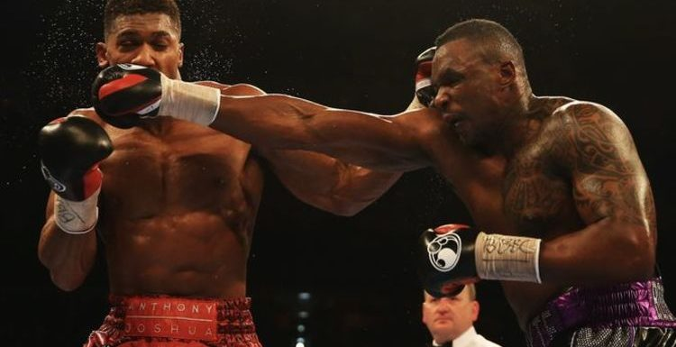 Dillian Whyte explains how THAT punch against Anthony Joshua 'nearly finished' his career