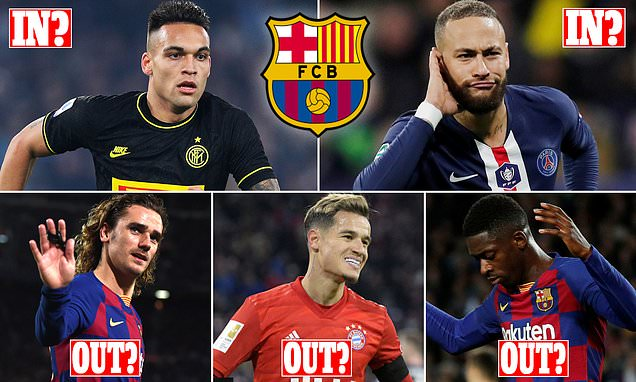 Barcelona CAN land both Lautaro Martinez and Neymar this summer