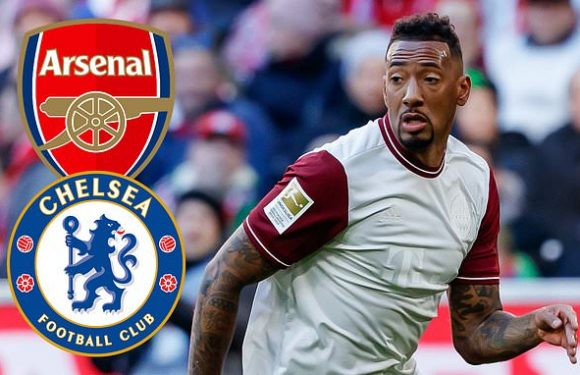 Jerome Boateng 'attracts interest from Chelsea and Arsenal'