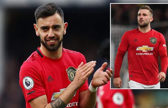 Luke Shaw staggered by impact of 'leader' Bruno Fernandes