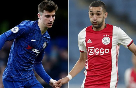 Mount delighted with 'world class' addition of Ajax star Ziyech