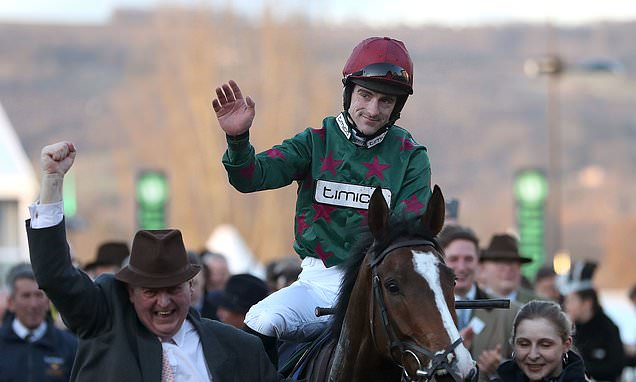 Brian Hughes crowned champion jump jockey for the first time