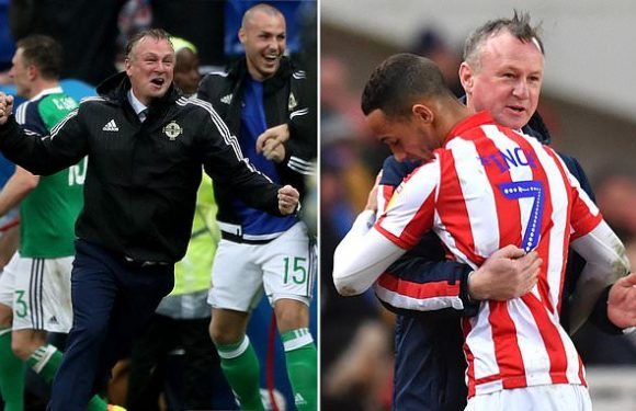 Michael O'Neill had Stoke clawing their way to safety before virus hit