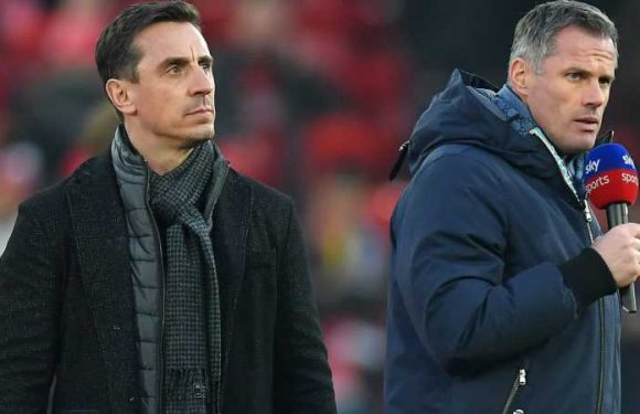 Coronavirus: Gary Neville and Jamie Carragher debate football's response