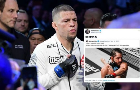 Nate Diaz issues blunt response to rematch challenge from Jorge Masvidal