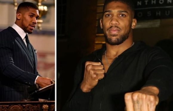 Anthony Joshua reveals how he plans to transition into retirement from boxing