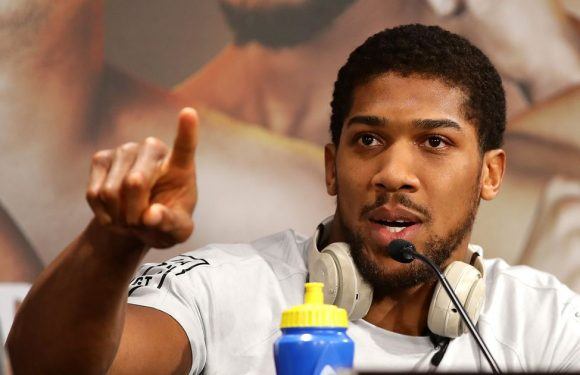 """Anthony Joshua discusses potential fight with """"killing machine"""" Mike Tyson"""