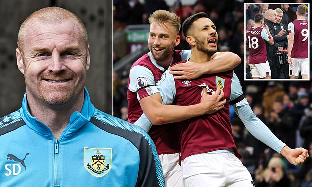 Sean Dyche says he and his Burnley players are raring to go